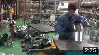 エルボ製作機械映像