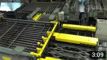 矩形ダクト直管自動ラインによる製作動画